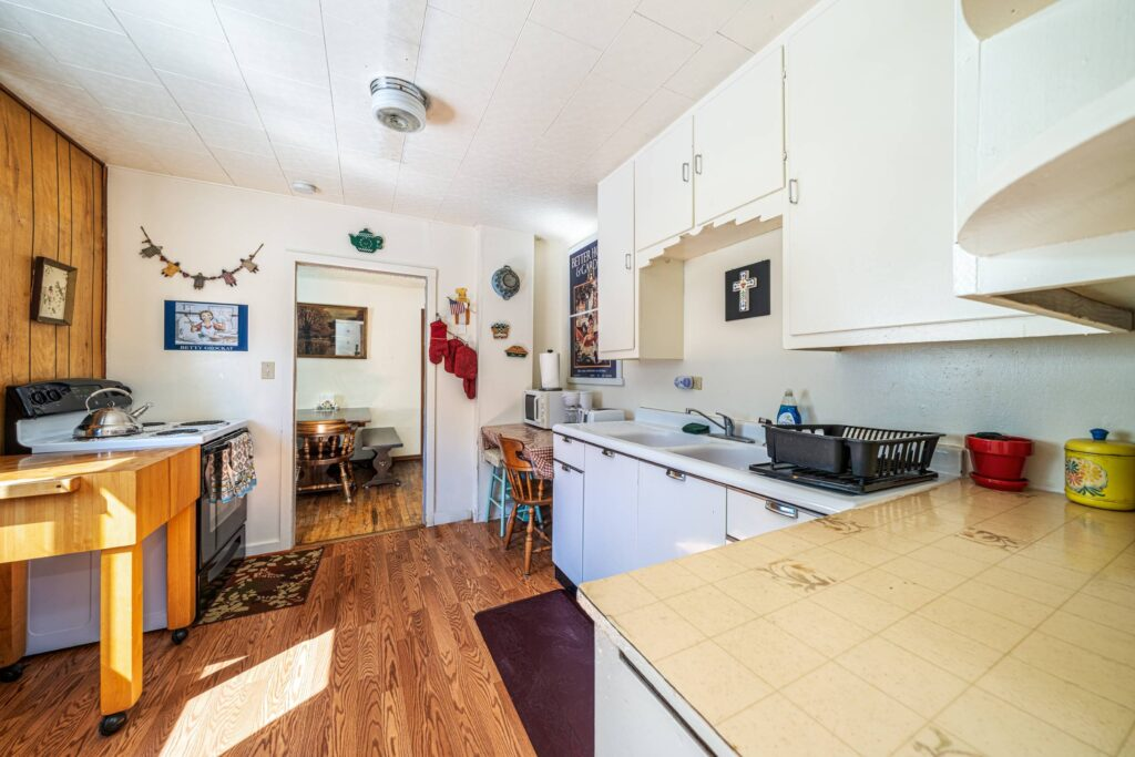 Kitchen (view from mud room) (2500)