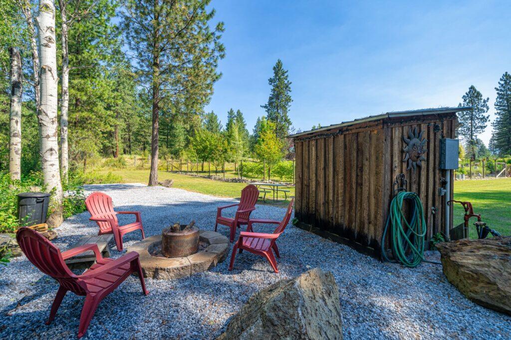 Grove Camp Site Fire Pit (2500)